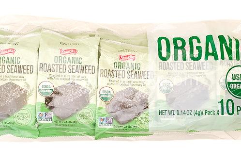 Shirakiku Organic Roasted Seaweed