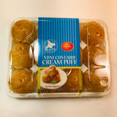 ORANGE Mini Cream Puffs