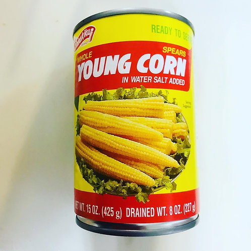 Shirakiku Young Corn - Whole