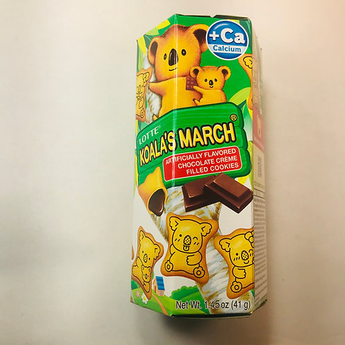 LOTTE Koala's March Chocolate Chocolate