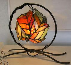 卓上ランプ木の葉シリーズ