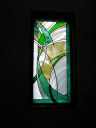 階段踊り場窓