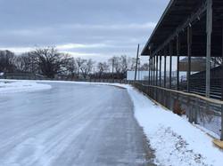 2018 Pre-event ice track - 3