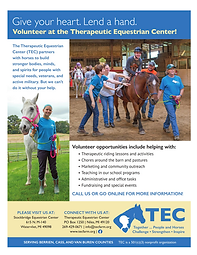 TEC Volunteer Promo Flyer
