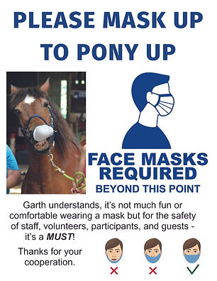 Mask up to pony up.jpg