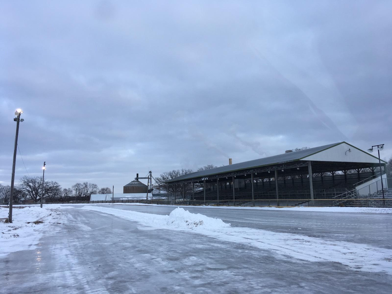 2018 Pre-event ice track  - 2