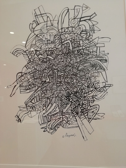 dessin encre de chine