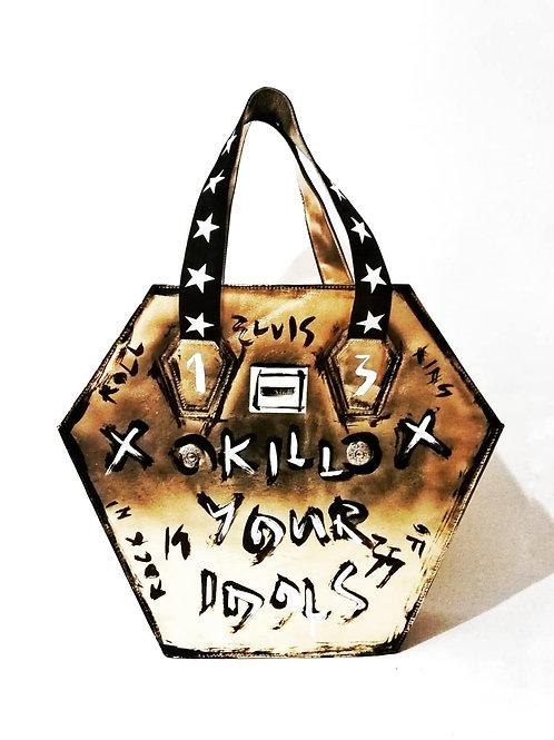 Custom Elvis Leather Bag