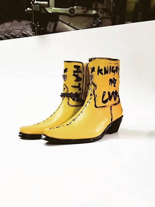 Blondie Leather Custom Boot