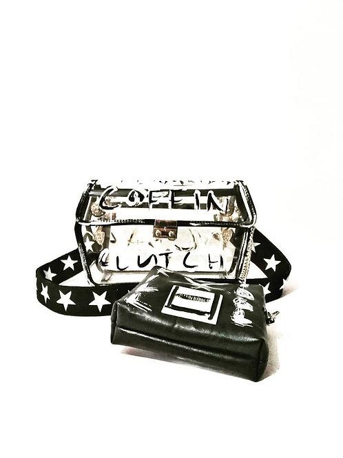 Custom Transparent Clutch & Mini Bag