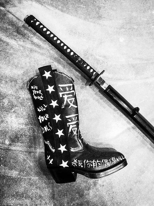 Pris Leather Boot / Custom Blade Runner