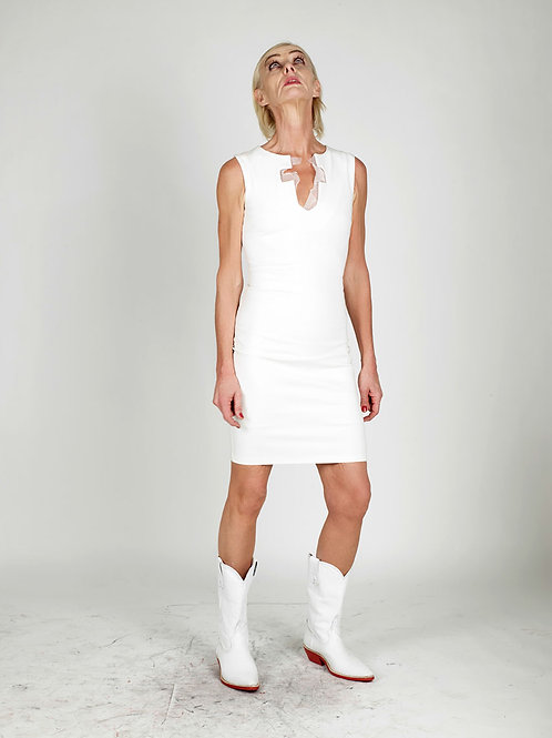 White Cross Dress