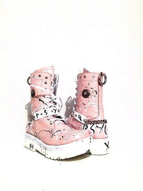 Pinky Custom Boots