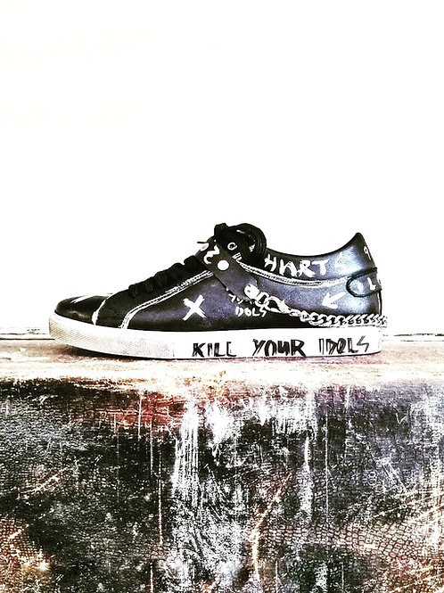Custom Wu-Tang Sneaker