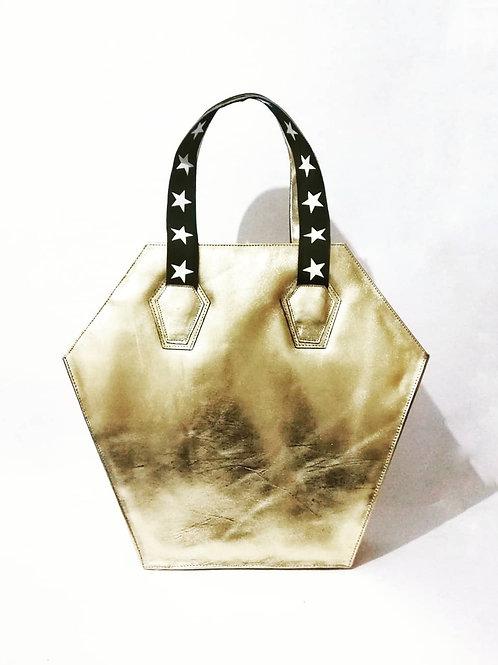 Golden Coffin Bag