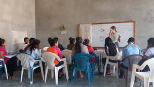 Neurology class in Petén