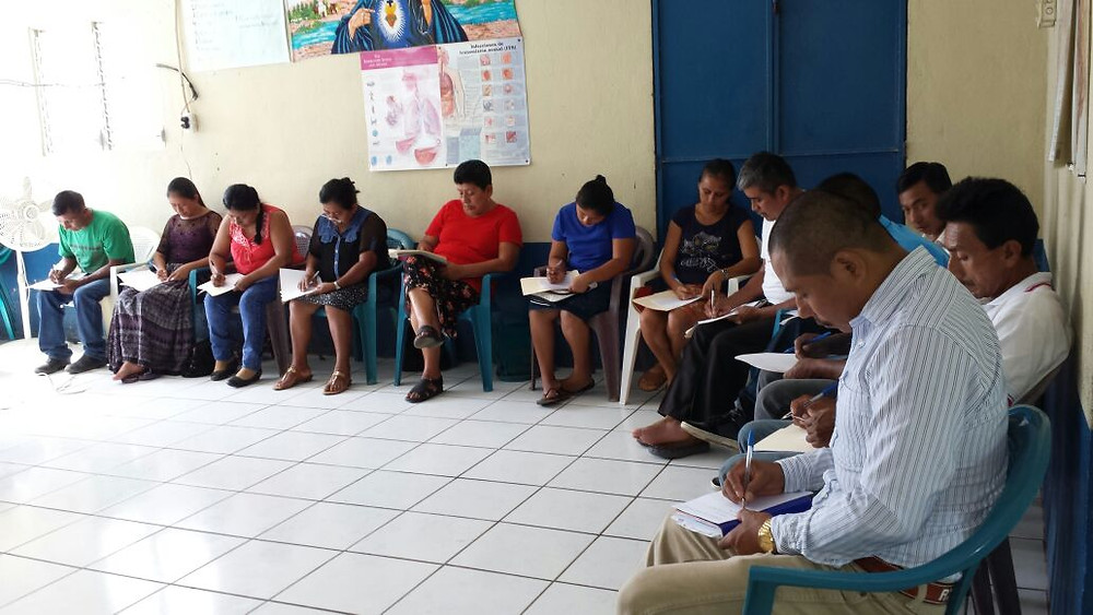 CHWs learn about mental health and self-care