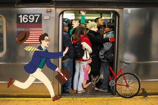 L Train - Brooklyn Bound.