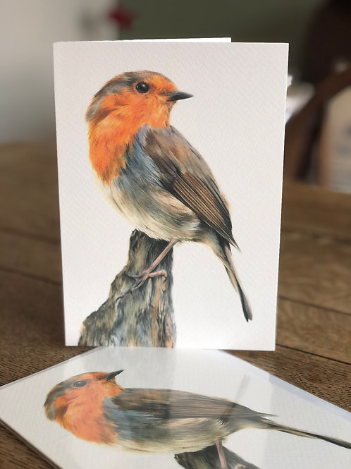 'Little Red' Greetings Card