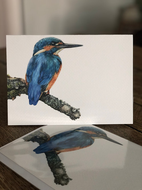 'Little King' Greetings Card