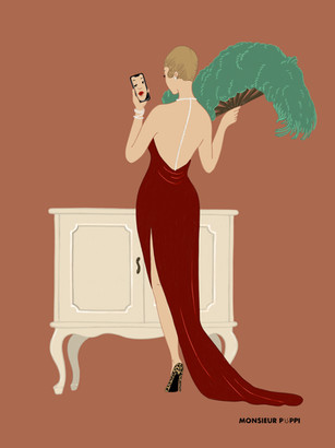 Selfie Lady