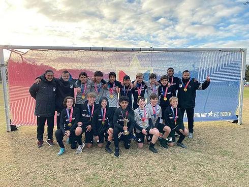 North Carolina FC showcase Junior Champi