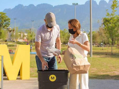 Miguel Treviño propone la creación de rutas de reciclaje en el municipio