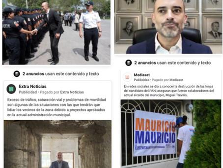 Exponen red de páginas en contra de Miguel Treviño