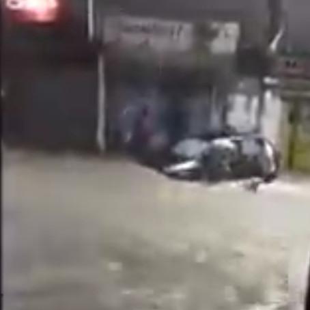 Tormenta sorpresiva inunda a la metrópoli