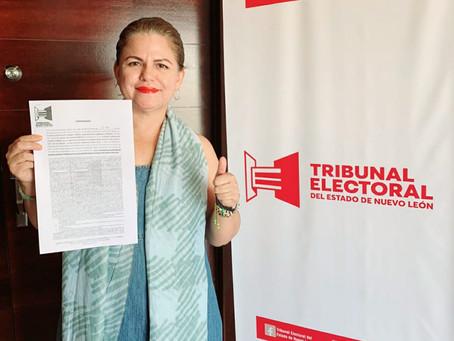 Espera Claudia Lozano resolución a su favor por parte del TEE