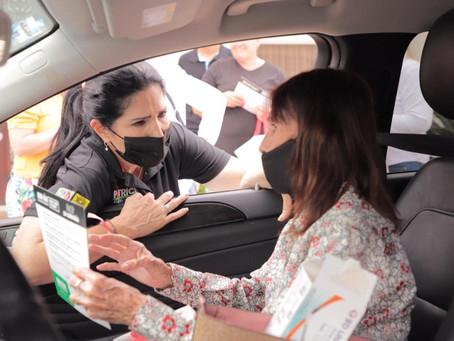 Se compromete Patricia Salazar a mantener el buen nivel de seguridad en Allende