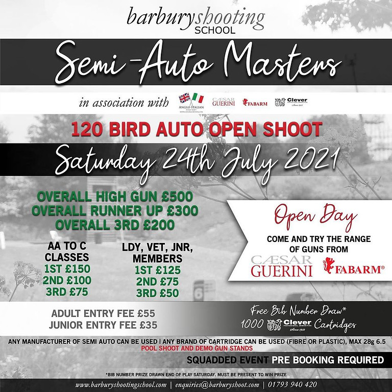 Barbury Semi Auto Masters