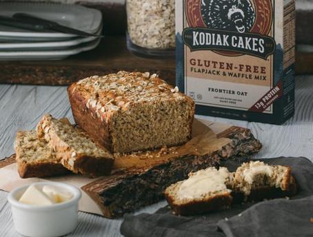 Peanut Butter Honey Oatmeal Bread