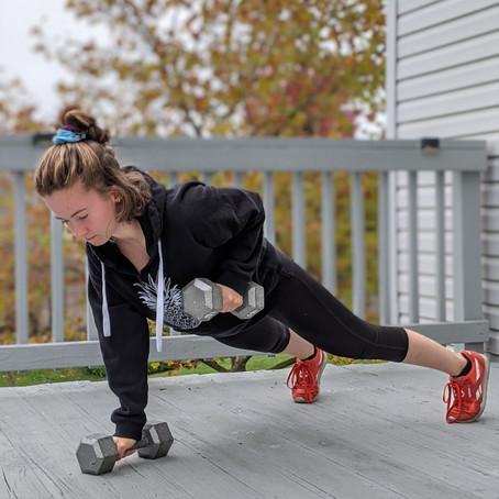 Strength + Cardio Circuit At Home!