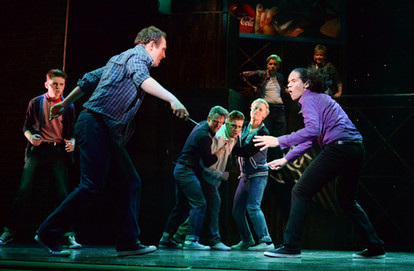 Newcastle Musical Theatre in West Side Story