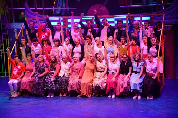 Newcastle Musical Theatre in Grease