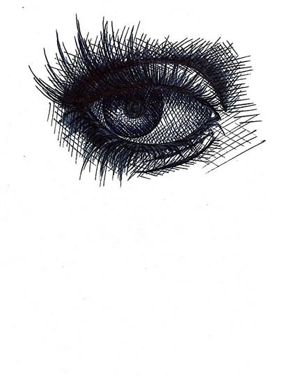 Eye Study 05 - 2017
