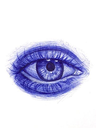 Eye Study 02 - 2018