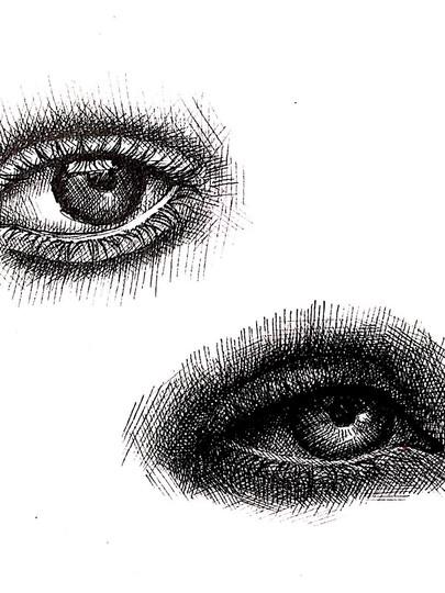 Eye Study 04 - 2017