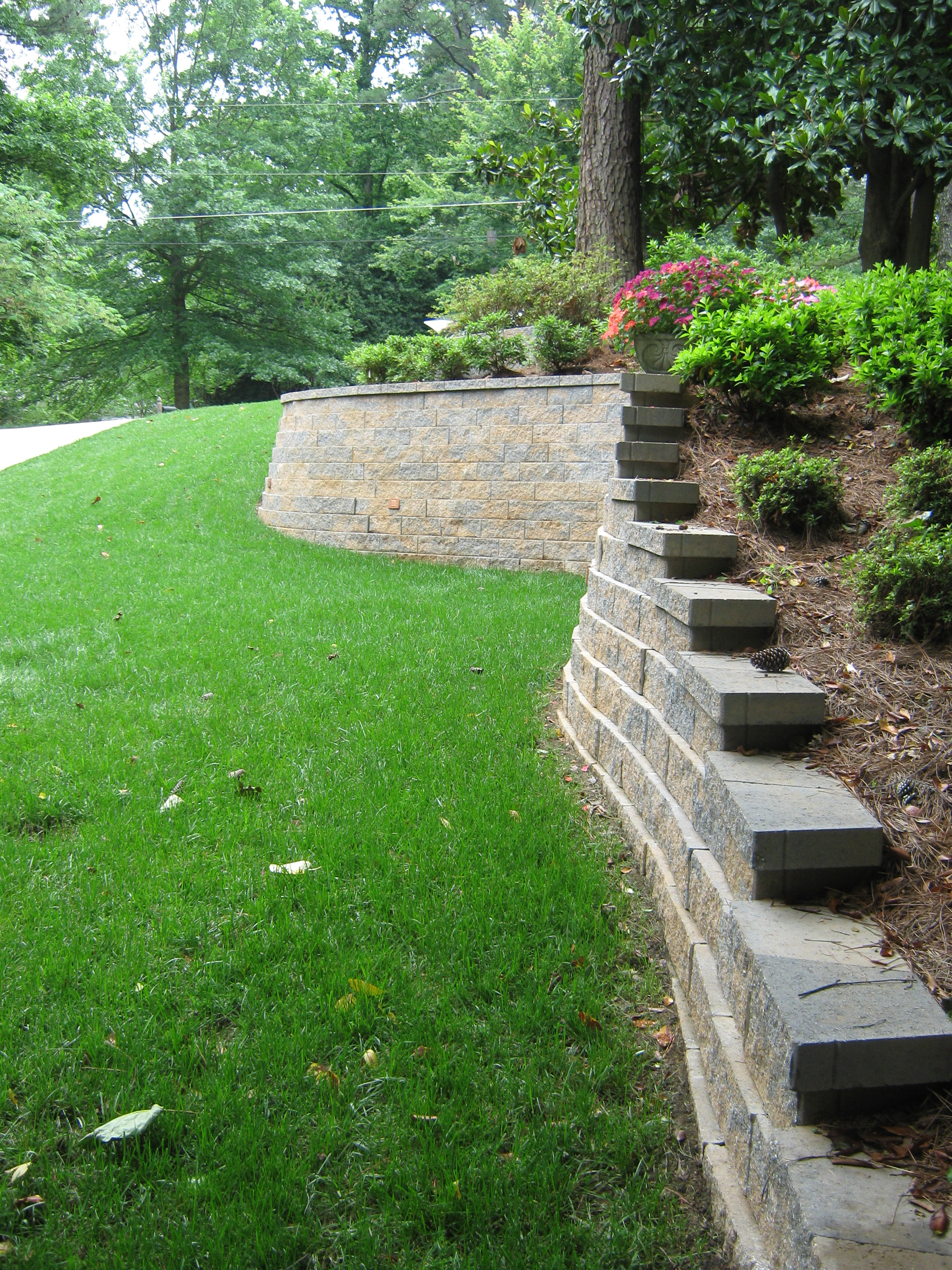 Retaining Walls that last.