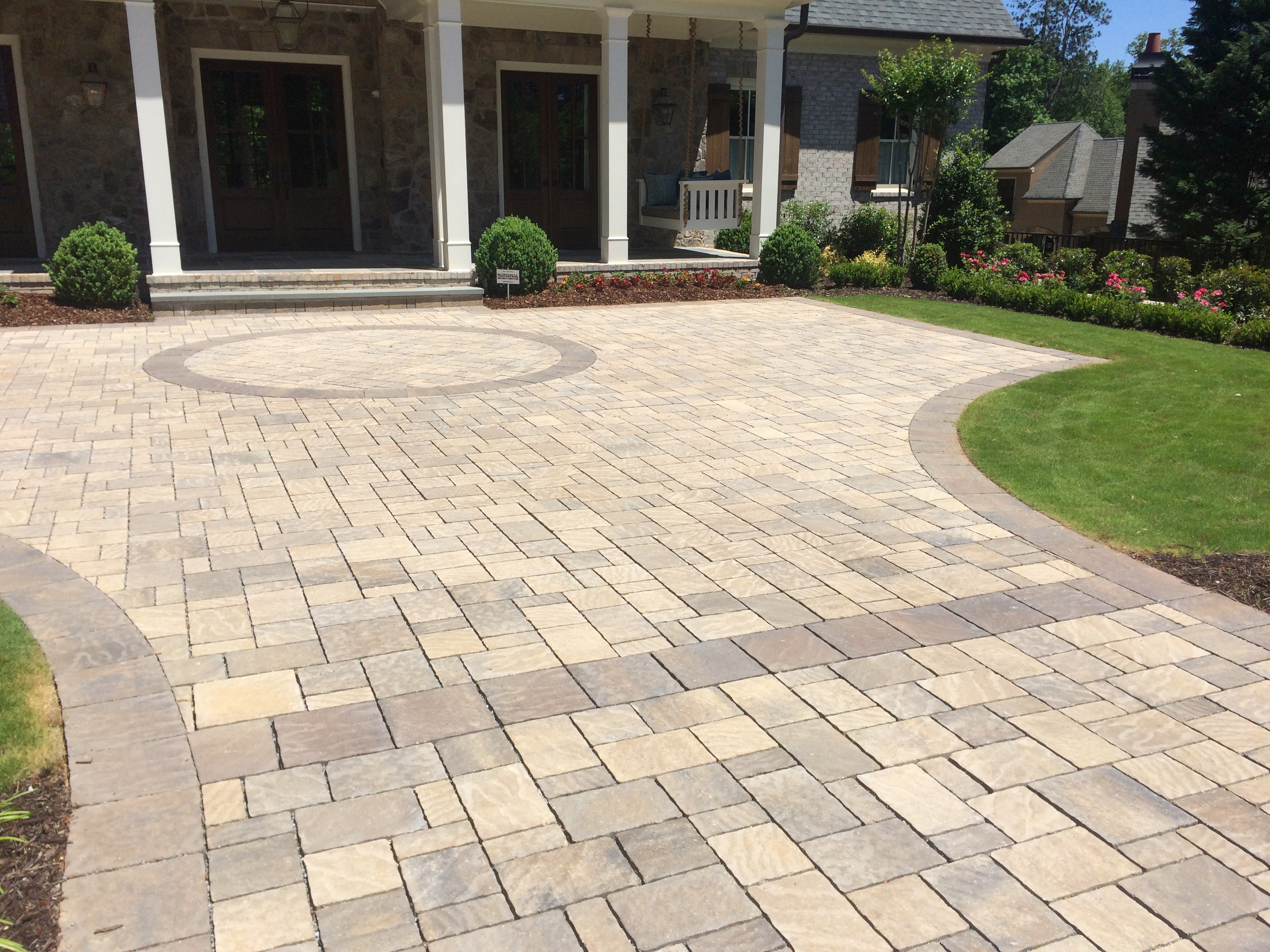 Simply Beautiful Circle Paver