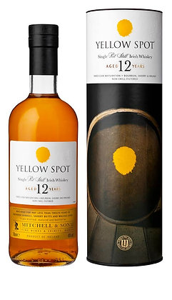 Yellow Spot 12 Years Single Pot Still, 46% 700ML