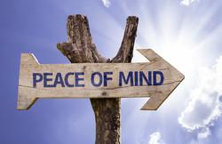 pease of mind
