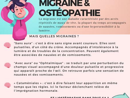 Migraine & Ostéopathie