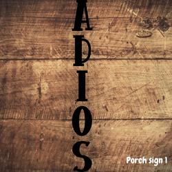 Porch Sign 1
