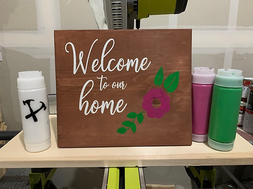 DIY Home sign kit!