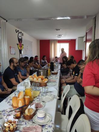 Café da manhã (Ministério com crianças)