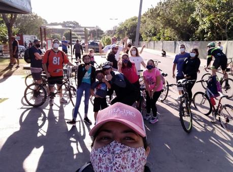 Passeio de bike SuperGreens
