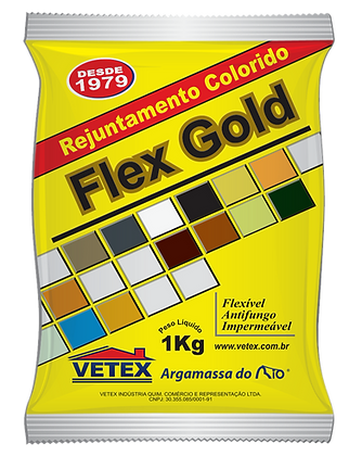 Rejuntamento Flex Gold