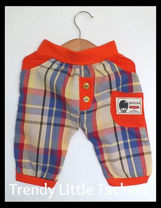 Luke Checkered Harlem Pants